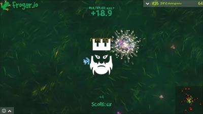 Frogar.io Gameplay