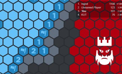 HexSweep.io Gameplay