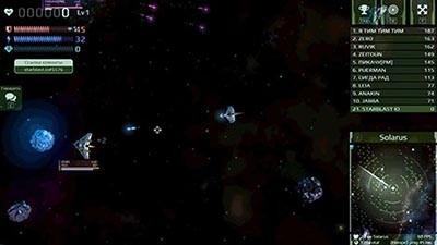 Starblast.io Gameplay