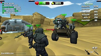 Warscrap.io Gameplay