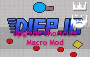 Diep.io Upgrade Shortcuts Macro Mod