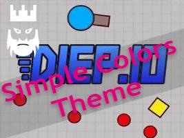 Diep.io Simple Colors Theme