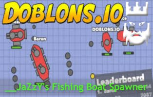 Fishing Boat Spawner for Doblons.io