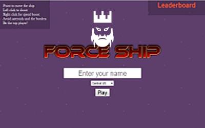 ForceShip.eu Gameplay