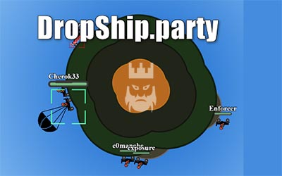 Dropship.party Gameplay