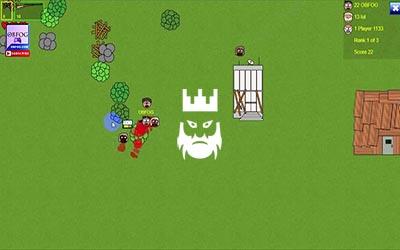 Frickinzombies.io Gameplay