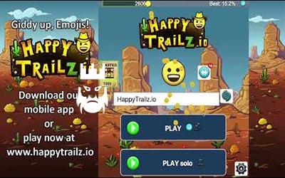 Happytrailz.io Gameplay
