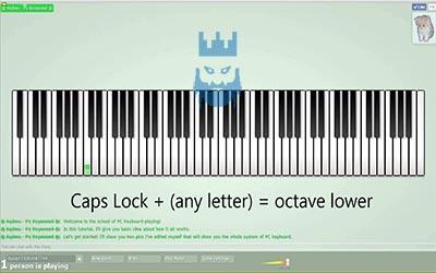 Multiplayer Piano Gameplay