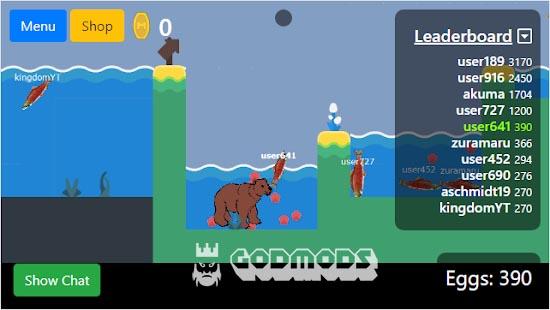 Salmonz.io Gameplay