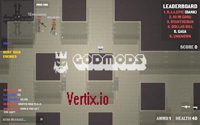 Vertix.io Aimbot Gameplay