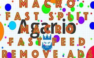 Agar.io Macro Fast Split Macro Fast Feed Remove Ads Mod