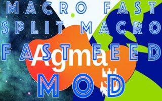 Agma.io Macro Fast Split Macro Fast Feed Mod