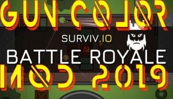 Surviv.io Gun Color Mod