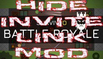 Surviv.io Hide Invite Link Mod