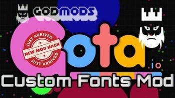 Gota.io Custom Fonts Mod