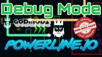 Powerline.io Debug Mode
