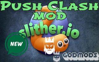 Slither.io Push Clash Mod