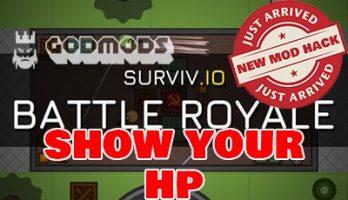 Surviv.io Mod Show Your HP