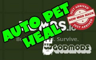 Zombs.io Auto Pet Heal