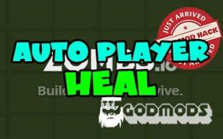 Zombs.io Auto Player Heal