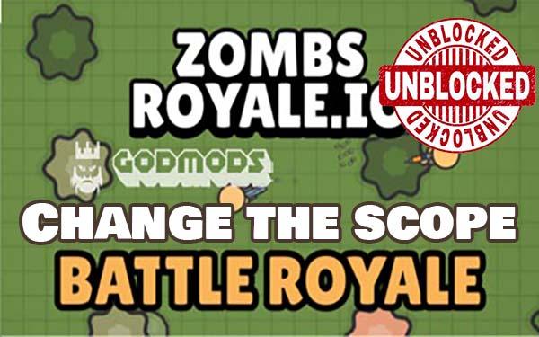 Zombsroyale.io Change The Scope