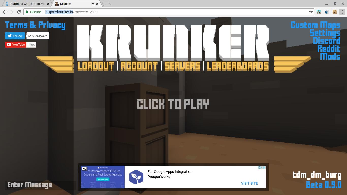 Krunker.io Gameplay